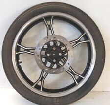 CHEAP CHAMP parts low mileage 05  XT125-6 COMPLETE FRONT WHEEL WITH TYRE