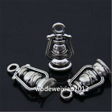 10pc Retro Tibetan Silver lamp Charm Beads Pendant Findings wholesale JP519