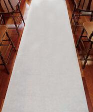 Plain White Aisle Runner Non-Woven Fabric Wedding Ceremony Decoration