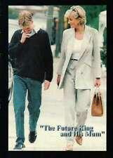 Princess Diana and Prince William, Handbag, Purse - Trading Card, Not a Postcard
