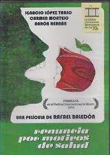 RENUNCIA POR MOTIVOS DE SALUD (1976) IGNACIO NEW DVD