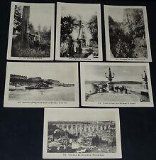 RARE 6 IMAGES PHOTOS ECOLE BON-POINTS 1930 LANDES VERNAISON LYON BRIARE MORLAIX