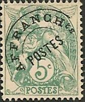 "FRANCE PREOBLITERE TIMBRE STAMP YVERT N° 41 "" TYPE BLANC 5C VERT "" NEUF xx LUXE"