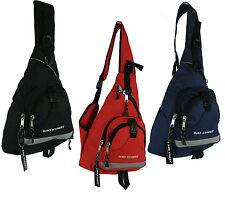 Neu Damen und Herren Rucksack Bodybag Z-Bag Umhängetasche 4033