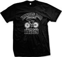Handle Bar Mustache Rides 10 Cents Bicycle Funny Humor Joke Mens T-shirt