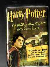 Harry Potter The wold  of 3D  Artbox Complete  Base 72 card set