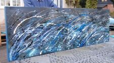 Blue Original Modern Art Paintings