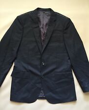 NEW JCREW Ludlow Suit Jacket with Double vent Italian Wool 40R Black 28130 $425