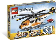 LEGO Creator Transport Chopper (#7345)(Retired 2012)(Very Rare)(NEW)