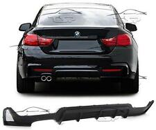 REAR SPOILER SPLITTER LIP BUMPER FOR BMW F32 SERIES 4 FROM 2013 M-LOOK BODY KIT