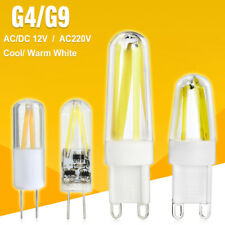 G9 G4 LED Lamp DC12V /AC220V Filament Light Dimmable Lampada Gallery Bulbs EC3E