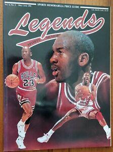 Michael Jordan 1991 Legends Magazine Excellent Condition