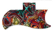 SG 61 RI Re-Issue Half Face Pickguard Gibson Graphical Guitar Single Abstract 15
