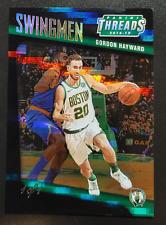 2018-19 Panini Threads Swingmen Premium Green Refractor #9 Gordon Hayward 1/1