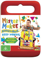 Mister Maker Around the World: Keep Making * NEW DVD * (Region 4 Australia)