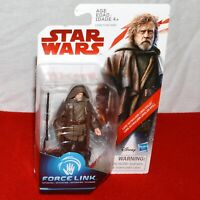 Star Wars Luke Skywalker Exile Last Jedi Collection Force Link Action Figure
