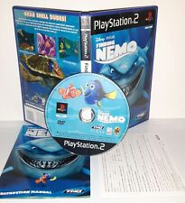 FINDING CERCANDO NEMO PESCE - Ps2 Playstation Play Station 2 Gioco Game