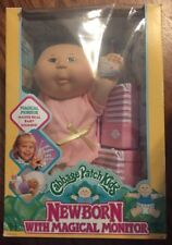 1991 Vintage Cabbage Patch Kids Newborn With Magical Monitor orgnl box NIB New