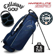 Callaway Hyper Lite Zero Double Strap Stand Golf Bag Navy Blue Ultra Light 2.5lb