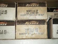 New Sunnen Stone Set Wy51 A 4 7 Range 45 92 Grit 150