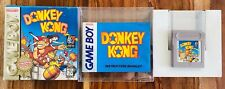 🔥Donkey Kong Gameboy Nintendo CIB Complete Box Manual Cart AUTHENTIC