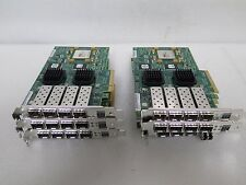 Lot of 6 LSI 4 Channel HBA Network Card -LSI7404EP-LC (111-00415+A0)