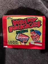 1982 Topps Wacky Packages Unopened Pack Non Sports Cards