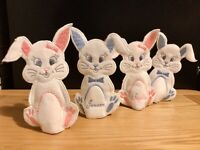 Personalised Handmade Easter Bunny Creme / Kinder Egg Cover