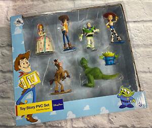 Disney Parks Pixar Toy Story PVC Collectible 7 Figurines Set Toy Kids NEW