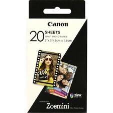 Papel Fotográfico adhesivo canon Zink para Zoe min