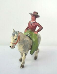 COWBOY ON HORSE BARCLAY MANOIL BRITAINS