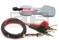 Greenlee Tele-Mate TM-500i CS-02 Butt Set Line Cord Piercing Pin Alligator Clips