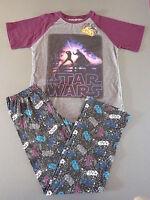 Star Wars Kinder Schlafanzug Jungen Pyjama DARTH VADER T-Shirt Hose lang 128-140