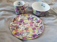Hello Kitty Liberty London Plate, Bowl And Mug Set 2012