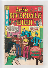Archie at Riverdale High #28 (1975, Archie Comics) Mr. Lodge They Dye By Night