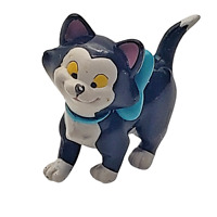 Disney Figaro Cat Blue Bow Minnie Mouse Pet PVC Figure 1.5 inches