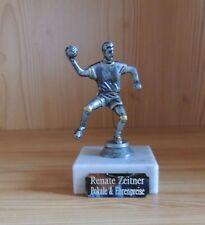 5 Handball Figuren mit Marmor und Gravur Selbstmontage (Sportfest Turnier Sport)