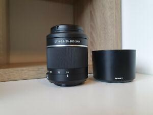 Sony SAL 55-200mm f/4.0-5.6 DT SAM Lens For Sony DSLR Alpha Cameras