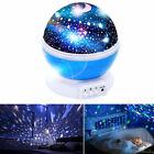 Night Lights For Boys Star & Moon Starlight Projector Bedside Lamp Baby Room Kid