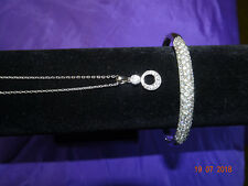 Sterling silver bracelet & pendant