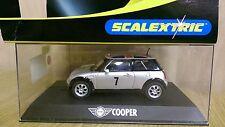 """SCALEXTRIC C2499 Mini Cooper """"No.7"""" Factory Sample"""