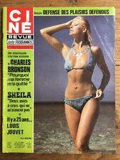 Ciné Revue 29 1976 SHEILA Charles BRONSON Debbie REYNOLDS Louis JOUVET Bruce LEE