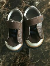 See Kai Run Sz 4 Toddler Kids Shoes brown suede leather
