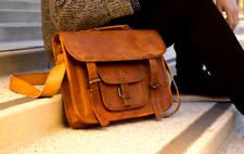 1 New Men's Bag Leather Satchel Laptop Messenger Leather Briefcase Shoulder Bag