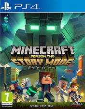 Minecraft Story Mode - Season 2 Pass Disc (PS4)  BRAND NEW AND SEALED