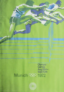 Olympic Games Munich 1972 Official Poster english