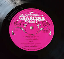 Genesis Trespass 1st UK Charisma Pink Scroll LP + Insert *VERY RARE*