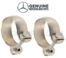 For Mercedes X164 GL320 W251 R320 Pair Set of 2 Exhaust Clamps OEM Genuine