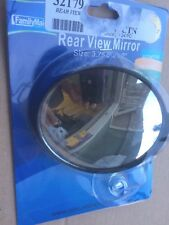 Adjustable Rear View Mirror Panoramic Convex Interior Clip & Suction Cups New
