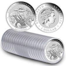 Roll of 20 - 2019-P 1 oz. Silver Kookaburra $1 Coins GEM BU SKU55415